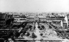 二十世纪四十年代的齐鲁大学校园