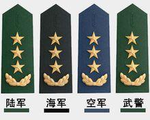 中国-陆海空武.军/警衔